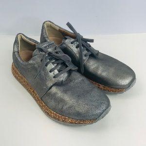 Birkenstock gunmetal gray shoes SZ:41